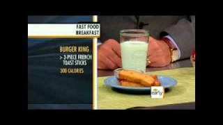 Healthy Fast Food Breakfast