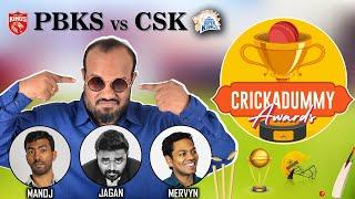 Crickadummy Awards - PBKS vs CSK | IPL 2021