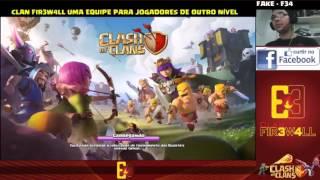 CLASH OF CLANS - GUERRA DE CLÃS | BULA DE REMÉDIO VS HAWK REPUBLIC