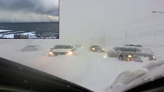 Snow Storm Buffalo New york 2014 - Incredible Lake-effect snow pummels New York State 11/18/2014