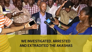 We investigated, arrested and extradited Akasha brothers - Boinnet