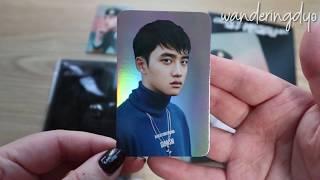 EXO Tempo Passport Wallet + Holo PC Set - D.O. Kyungsoo ver. (ft. Suho, Xiumin)