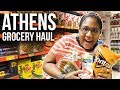 Cost of Living in Athens Greece | Grocery Store Haul