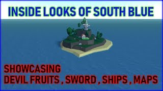Inside Looks Of South Blue | BETTER THAN ONE PIECE MILLENNIUM? | ROBLOX