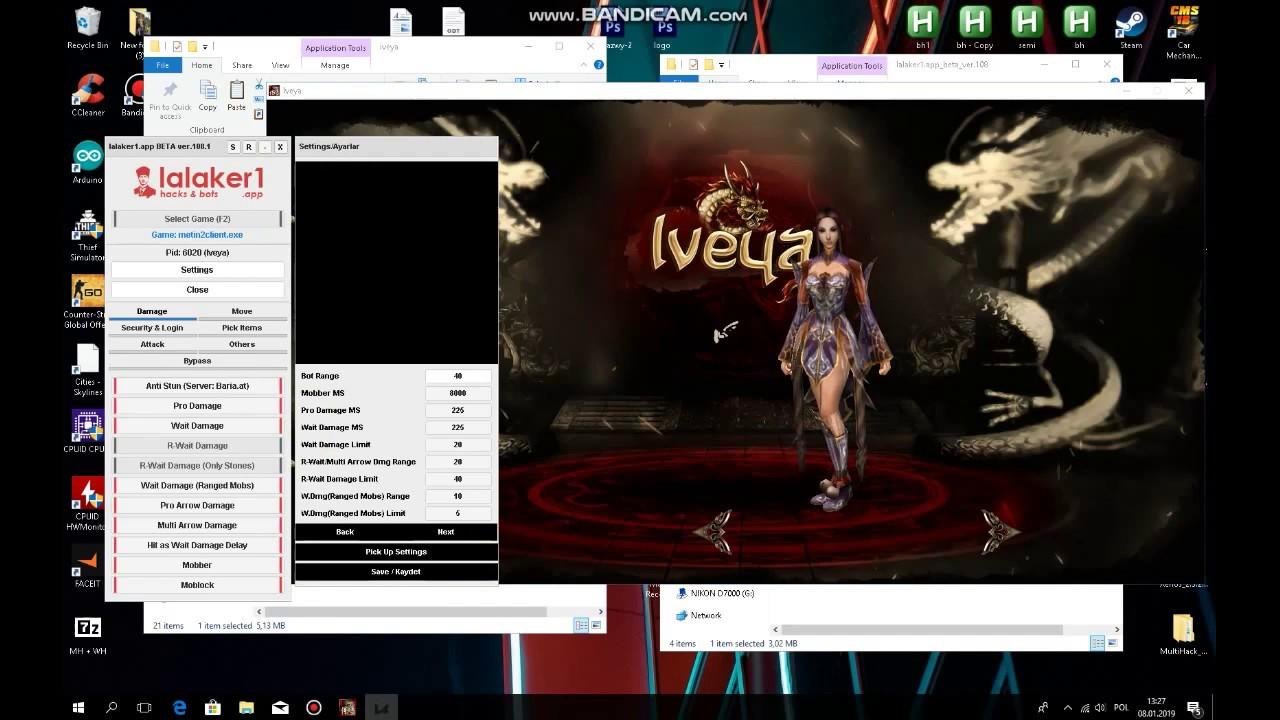 Metin2 [IVEYA.EU] Multihack + automatyzacja dungeonów - YouTube