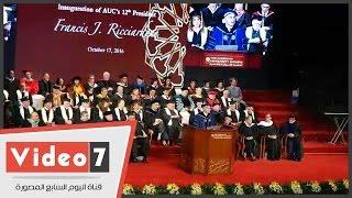 رئيس الجامعة الأمريكية: الهدوء والاستقرار عادا لقاهرة المعز