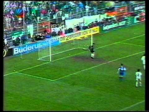 93/94 Gladbach - Leipzig 6:1 27. Spieltag