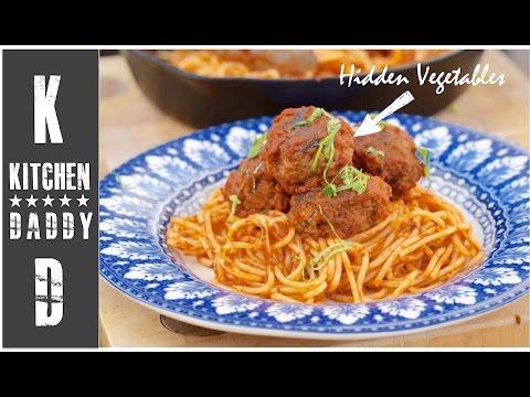 Meat Balls With Hidden Veg | Kitchen Daddy