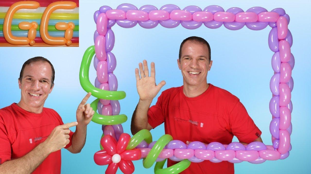 Marco para fotos gigante para fiestas marco de globos - Marcos para fotos economicos ...