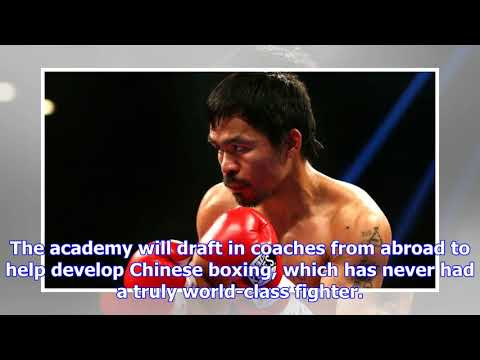 Manny pacquiao launches bid to unearth chinese boxing stars