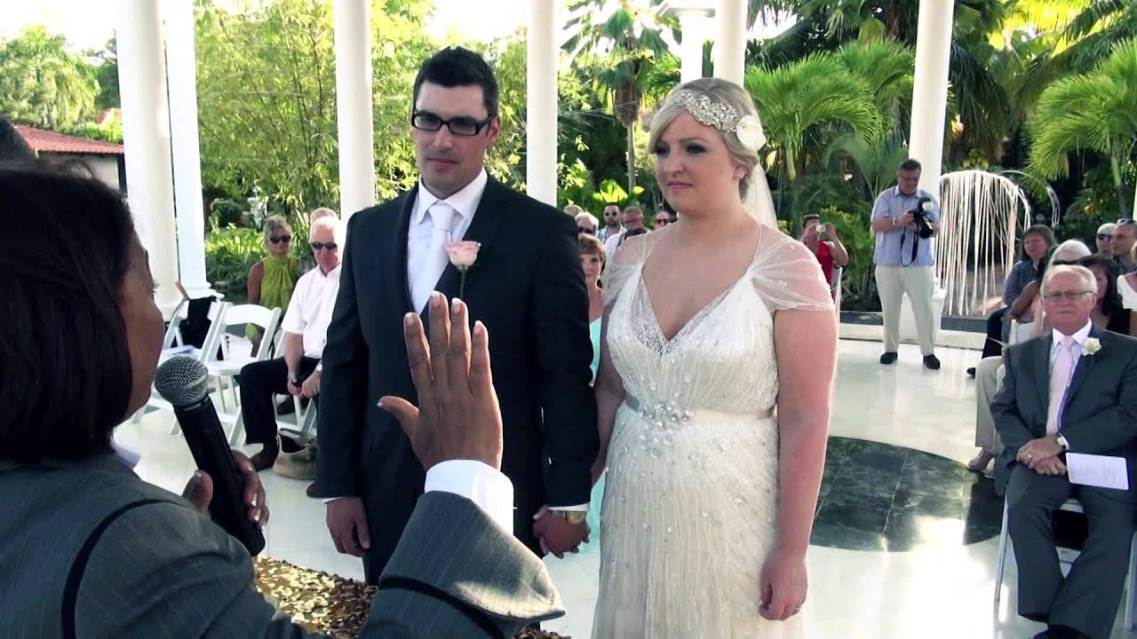 Elizabeth David Punta Cana Wedding Video Meliá Caribe Tropical You