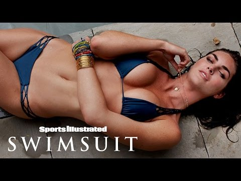 Hilary Rhoda Wasn't Always This Comfortable In Front Of The Camera | Sports Illustrated Swimsuit