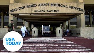 President Donald Trump remains at Walter Reed hospital | USA TODAY