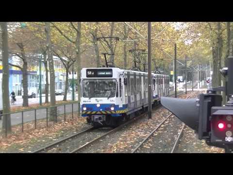 GVB Amsterdam Metro 51 en Tram 5 de Amstelveenlijn