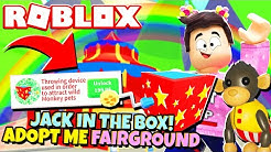 NEW MONKEY JACK IN THE BOX! Adopt Me Monkey Fairground Update (Roblox)