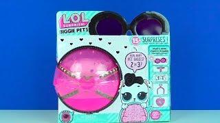 LOL Biggie Pets Eye Spy Riesen Überraschungsei Learn Colors with Ice Cube ein seltenes LOL Tierchen
