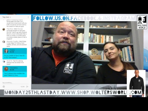 Live Travel Chat with Mark & Jocelyn - Come with Your Travel Questions