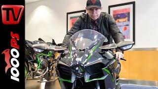 Kawasaki Ninja H2 / H2 R | Infos zu Probefahrten, Fahrverhalten, Preis