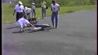avion modélisme pulsoréacteur ( moteur à réaction cyclique )(1982)
