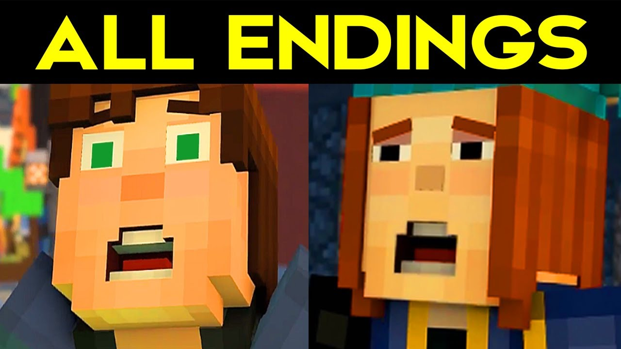 Minecraft Story Mode Season 2 All Endings Bad Ending 1 Good