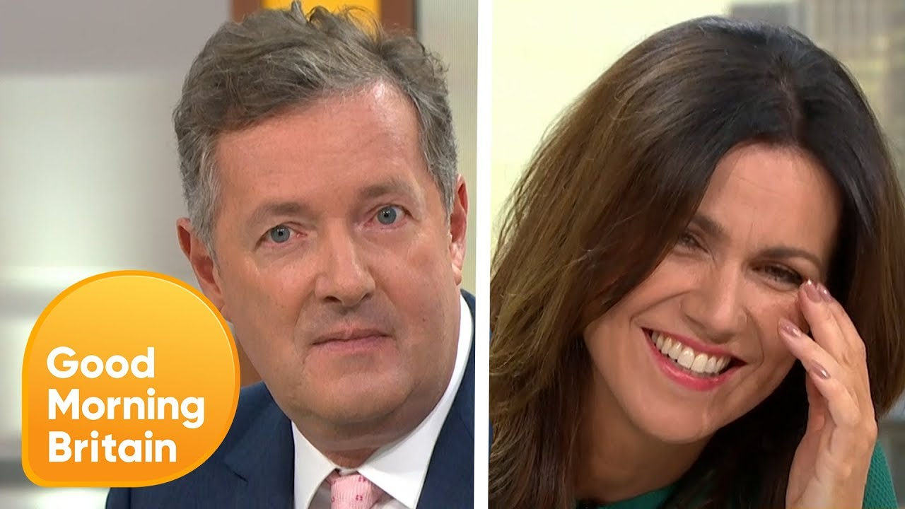 The Best of Piers and Susanna's Friendship | Good Morning Britain