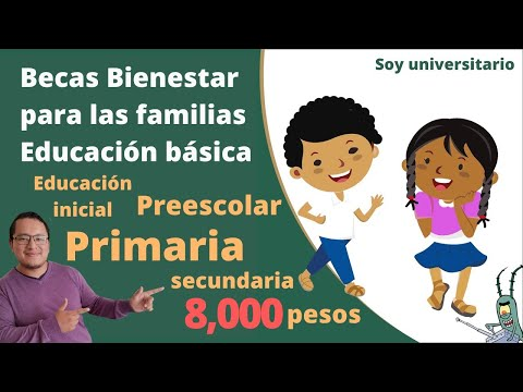 Becas para Primaria, Secundaria, Preescolar 2021 Becas Bienestar para Familias de Educación Básica