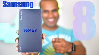 Samsung Note 8 - Unboxing and Review