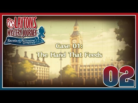 Layton's Mystery Journey - Case 1: The Hand that Feeds