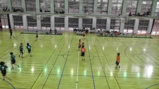 関東学連ハンドボール2017.4.15 vs昭和薬科大学②