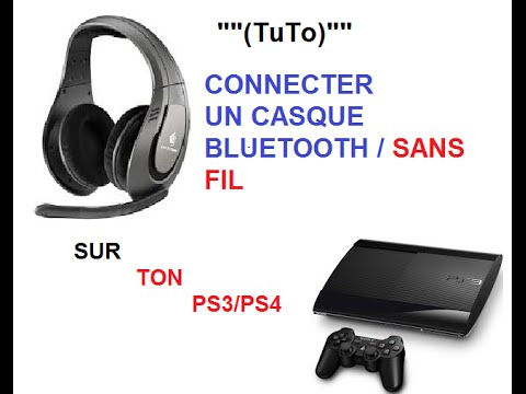 tuto connecter un casque sans fil sur ps3 ps4 youtube. Black Bedroom Furniture Sets. Home Design Ideas
