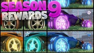 New Season 9 Rewards On Rocket League