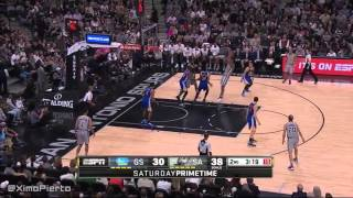 Golden State Warriors vs San Antonio Spurs - Full Game March 19, 2016