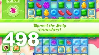 Candy Crush Jelly Saga Level 498 (3 star, No boosters)