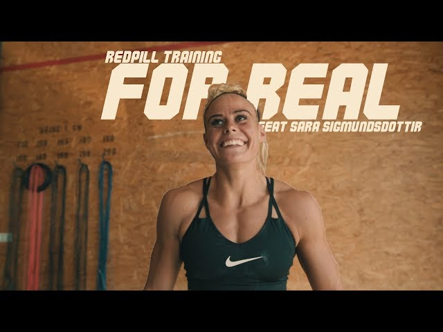 For Real - Episode 8 - Feat. Sara Sigmundsdottir & Red Pill Training. Games Simulation Day 3