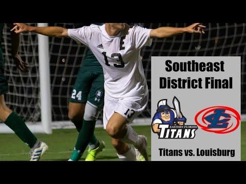 EFSC Men's Soccer Vs. Louisburg (District Final)