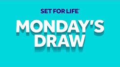 The National Lottery 'Set For Life' draw results from Monday 6th April 2020