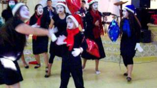 Pantomina navideña Rojo es navidad  RET