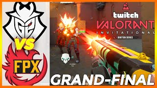 EPIC GRAND-FINAL! G2 vṡ FPX HIGHLIGHTS - BLAST Valorant Twitch Invitational