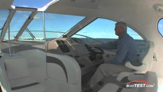 Cruisers Yachts 390 Sports Coupe 2011 Layout / Features Reviews - By BoatTest.com