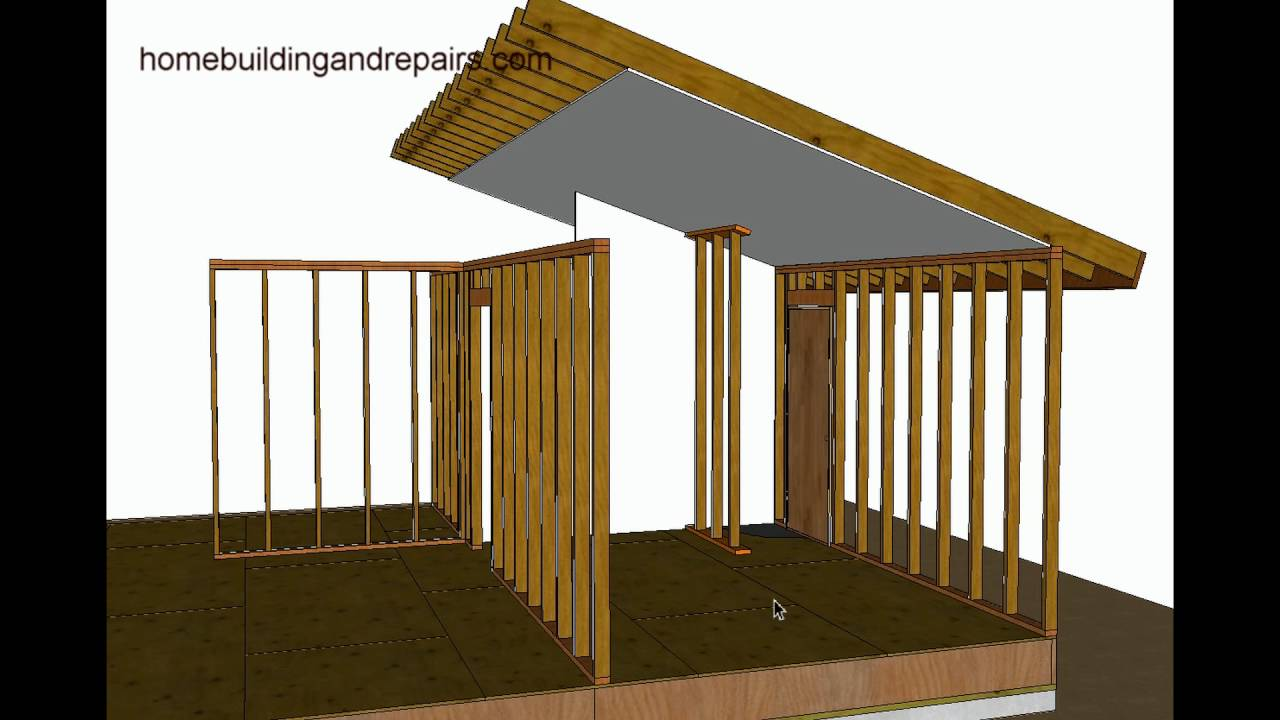How To Support Vaulted Roof For Minor Load Bearing ...