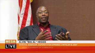 Former NBA Player And Superstition Springs GM, Alvin Heggs
