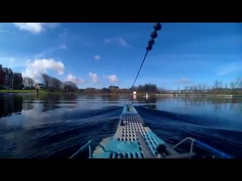 Camera test on RC Submarine at Southport Model Boat Club