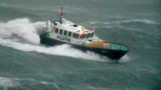 Pilot boats in rough weather. BEST OF 2008- early 2010