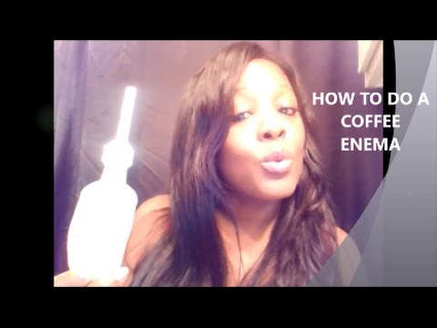 MISC CHATTER - HOW TO DO COFFEE ENEMA