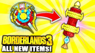 Borderlands 3 - ALL 8 NEW Legendary Class Mods & Shields Locations YOU NEED TO GO TO!