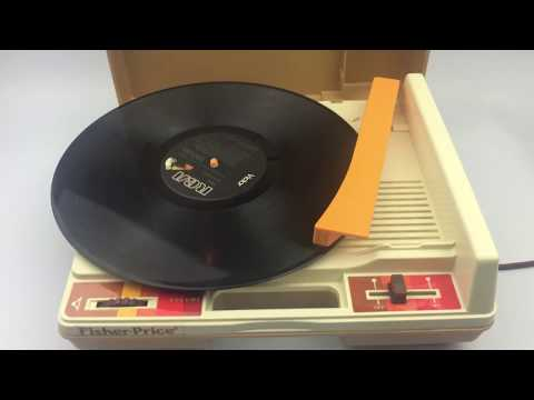 Fisher Price Record Player 1978 Model 825