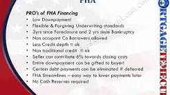 Differences Between FHA  VA CONVENTIONAL  USDA Mortgage Loans