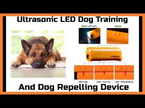 Frienda LED Ultrasonic Dog Training & Repelling Device Review
