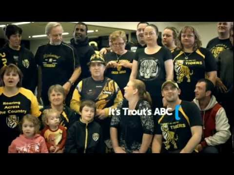 Richmond Football Club Cheer Squad- Trout's ABC