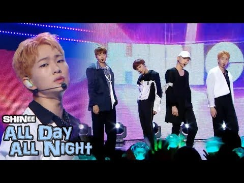 [Comeback Stage] SHINee - All Day All Night, 샤이니 - All Day All Night  Show Music core 20180602